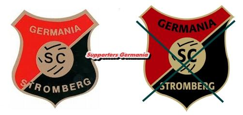 SC Germania Stromberg, Tradition bewahren ! Pro altes Germania Wappen !